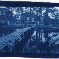 Cyanotype Pier