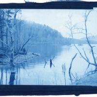 Cyanotype Watauga Point 8B