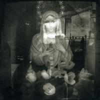 Photopolymer gravure Madonna in Nekab