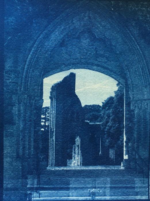 Cyanotype-Glastonbury-Abbey
