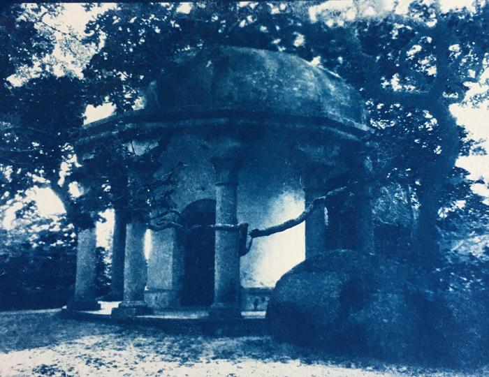 Cyanotype-Pagoda