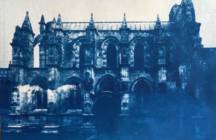 Cyanotype-Rosslyn-Chapel
