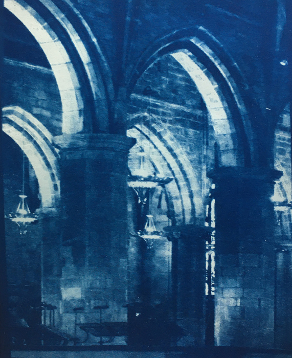 Cyanotype-St-Giles-Arches