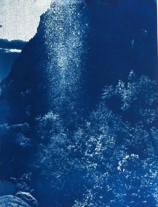 Cyanotype-Zion-Waterfalling
