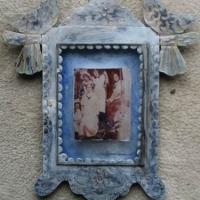 Polaroid image transfer Caravangirls