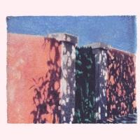 Polaroid image transfer Wall and shadows