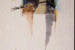 Polaroid image transfer Under this sun Coralita