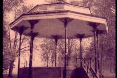 Cyanotype Bandstand