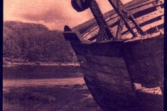 Cyanotype Wreck
