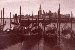 Salt print Gondolas