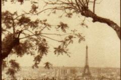 Salt print Paris skyline