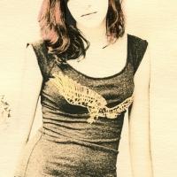 Lith print Miss Meg2