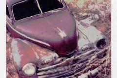 Polaroid SX-70 Old Car