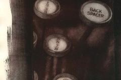 Oil Print - Backspace