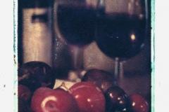 Polaroid transfer Red wine