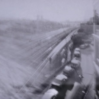 Pinhole St Eriks Bridge Ginger camera