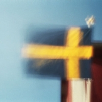Pinhole Swedish Flag
