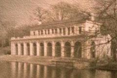 Pinhole kallitype Boat house
