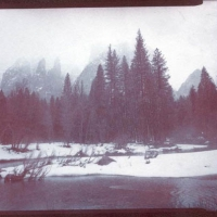 Chrysotype Yosemite Fog over Merced River