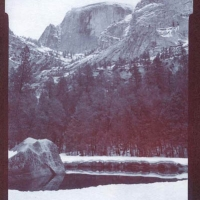 Chrysotype Yosemite Half Dome Mirror