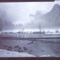 Chrysotype Yosemite Winter Merced River