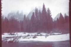 Chrysotype Yosemite Fog over Merced River