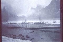 Chrysotype Yosemite Winter Merced River