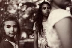 Albumen print 04 Gypsy girls