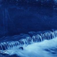 Cyanotype River Lathkill, Derbyshire