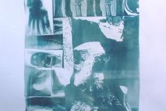 Cyanotype Swimming