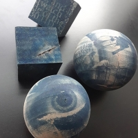 Cyanotype-on-wood-Cubes-And-Spheres