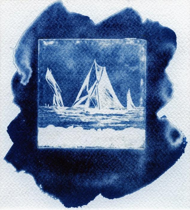 Photogram Glass Boat