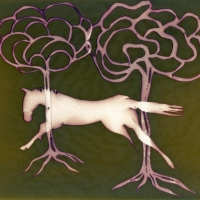 Lumen print Dream Horse