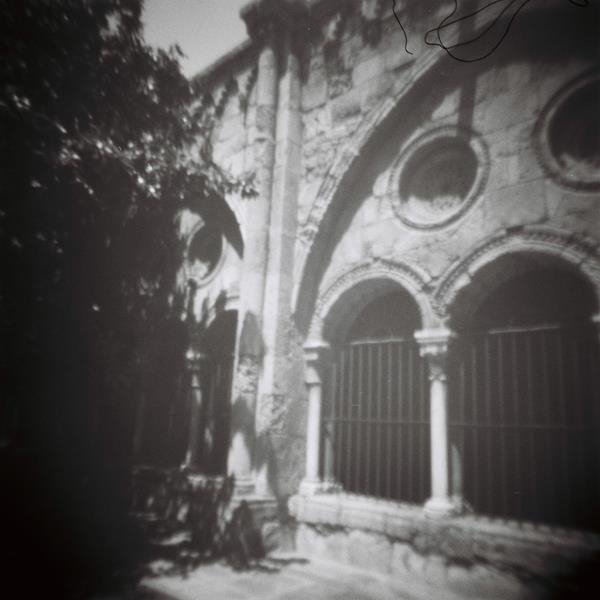 Pinhole Cloister Tarragonna Cathedral