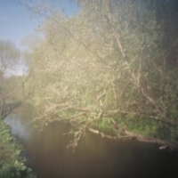 Pinhole After Corot 2 Water of Leith Edinburgh