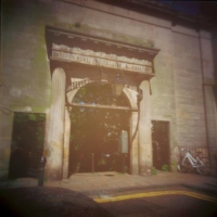 Pinhole Old meatmarket entrance Edinburgh