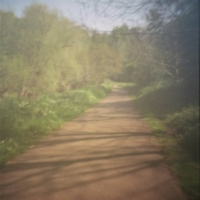 Pinhole Path by water of Leith Edinburgh