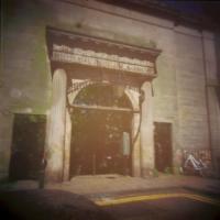 Pinhole Old meatmarket entrance Edinburgh