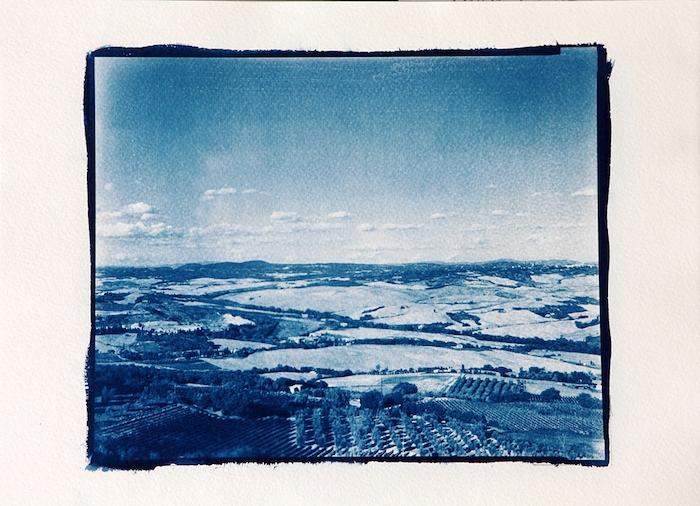 Cyanotype-Tuscany