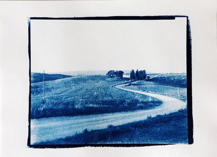 Cyanotype-a-House-a-Road