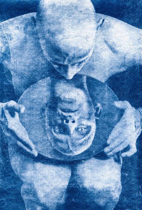 Cyanotype-Androgynia