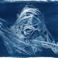 Cyanotype-The-scream