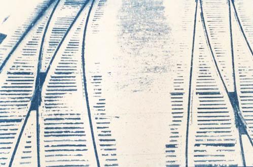 Cyanotype-Tracks-in-winter