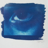 Cyanotype My son