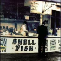 Tempera print shell fish