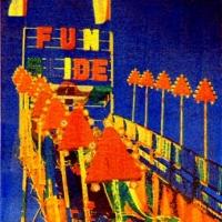 Casein pigment print Carnival Fun Slide