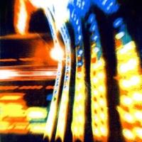 Casein pigment print Carnival Lights