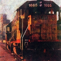 Gum bichromate Union Pacific 1665