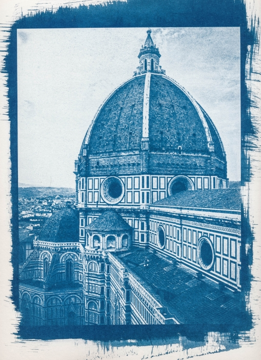 Cyanotype Cathedral
