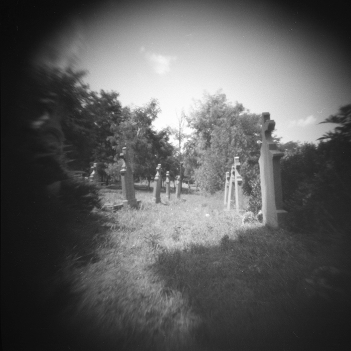 Pinhole The old cemetery